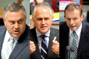 Hockey Turnbull Abbott