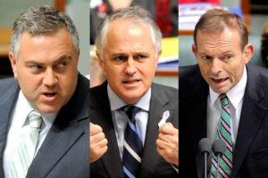 Hockey Turnbull Abbott