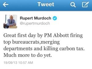 RupertMurdochTweet