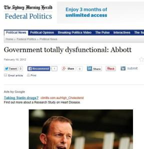 Abbott dysfunctional