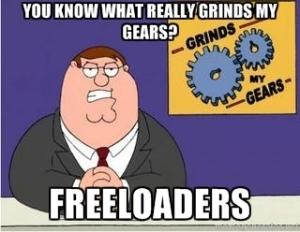 Freeloaders Tax Paying Meme