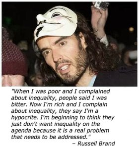 Russell Brand Wealth Inequality