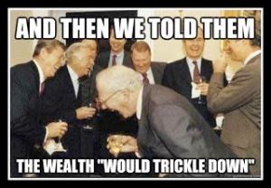 Wealth does not trickle down