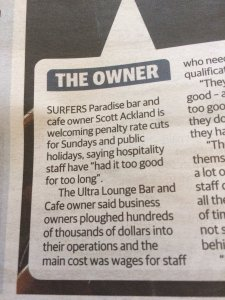 From the Gold Coast Bulletin